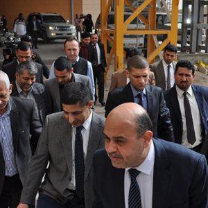 Provincial Council Head Mr.Sabah Al Bazooni visit